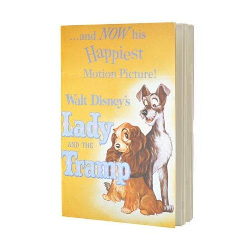 Disney Lady And The Tramp Film Poster Notebook Note Pad